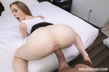 Hot babe Laney Grey takes big cock doggy style